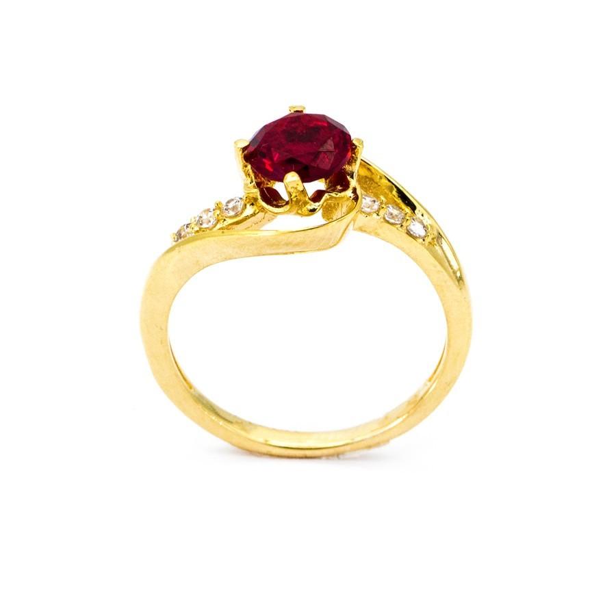 Nhẫn Nữ Vàng 18k Đính Đá CZ - N3463-4