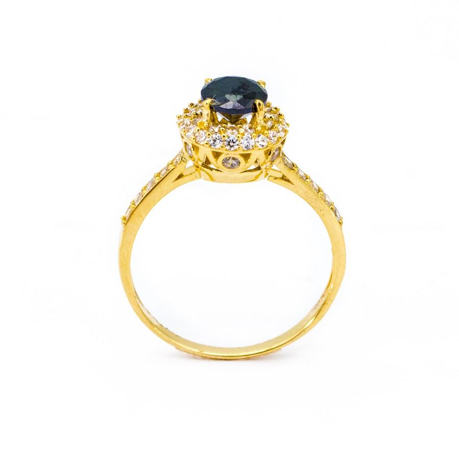 Nhẫn Nữ Vàng 18k Đính Đá CZ - N2303-1