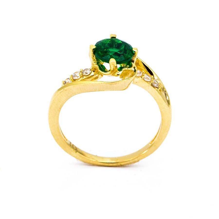 Nhẫn Nữ Vàng 18k Đính Đá CZ - N3463-3