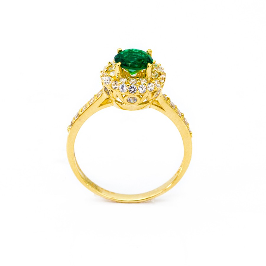 Nhẫn Nữ Vàng 18k Đính Đá CZ - N2303-3