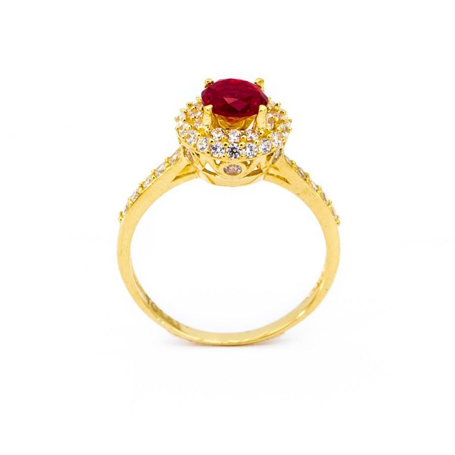 Nhẫn Nữ Vàng 18k Đính Đá CZ - N2303-4