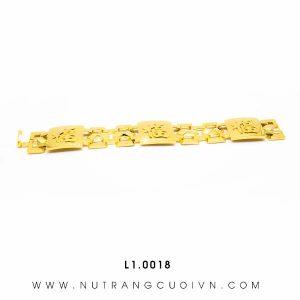 Lắc Tay APJ Vàng 18k - L1.0018