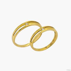 Nhẫn Cưới Vàng APJ Vàng 18k - TT01