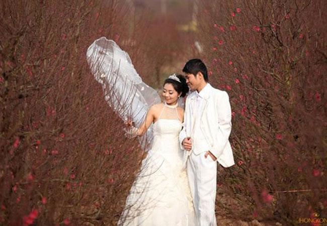 lưu ý khi chụp ảnh cưới ngày tết