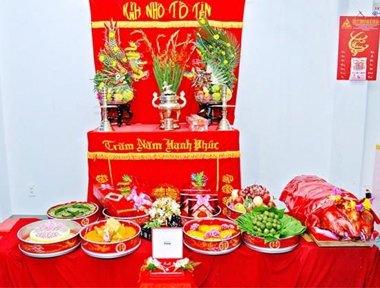 lễ vật ăn hỏi miền Trung