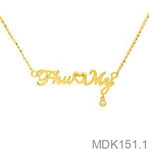 Mặt Dây Chuyền Vàng 18k  - MDK151.1