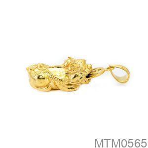 Mặt Dây Chuyền Tỳ Hưu Vàng 18k - MTM0565