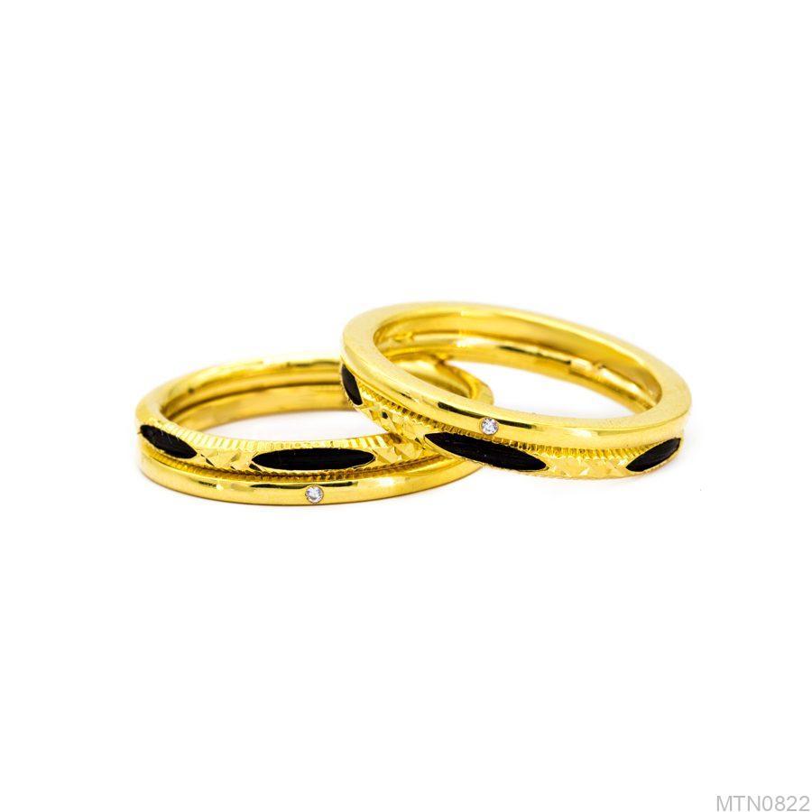 Nhẫn cưới lông voi MTN0822-2