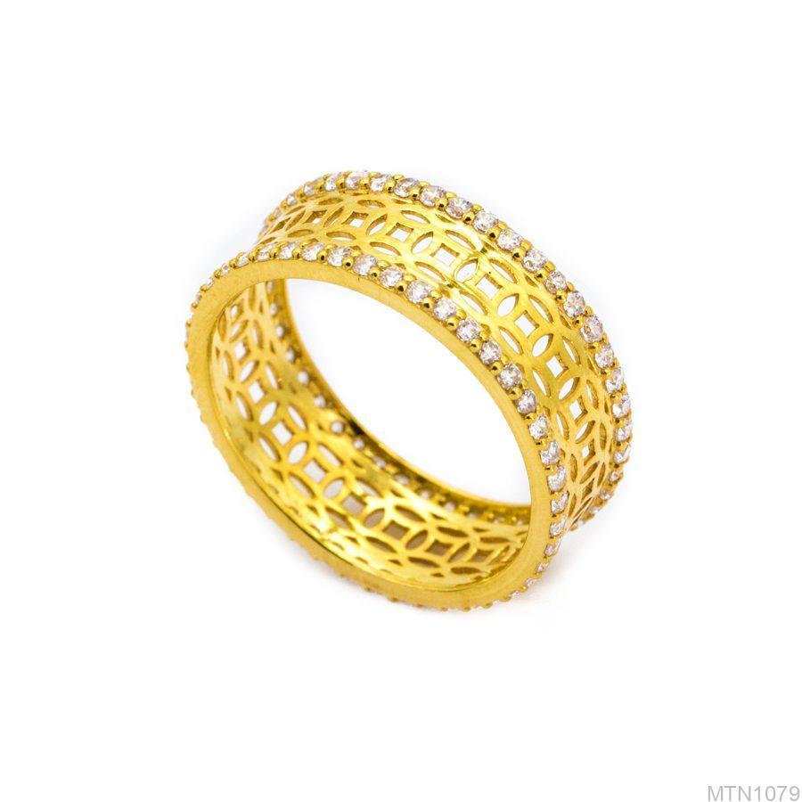 MTN1079-1 Nhẫn nữ kim tiền vàng 18k