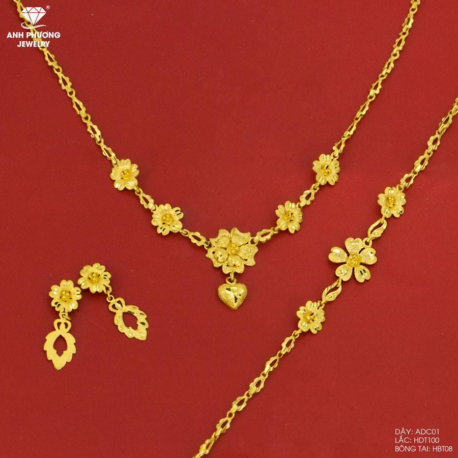 bộ sưu tập vàng cưới 18k
