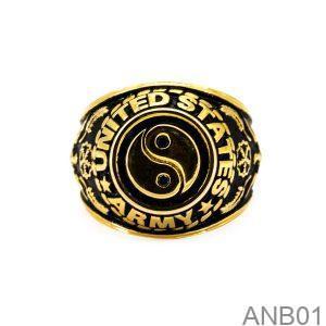 ANB01-2 Nhẫn mỹ nam vàng 10k APJ