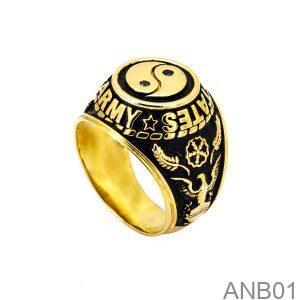 Nhẫn Mỹ Vàng Vàng 10k - ANB01