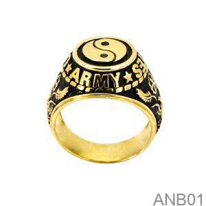 Nhẫn Nam Vàng Vàng 10k - ANB01