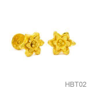 Bông Tai Cưới Vàng 24K - HBT02