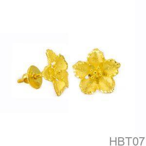 Bông Tai Cưới Vàng 24K - HBT07