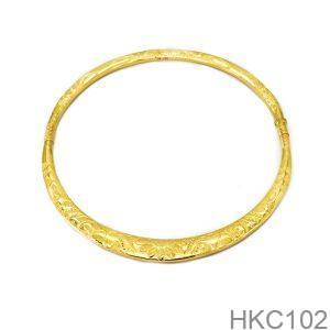 Kiềng Cưới Vàng 24K - HKC102