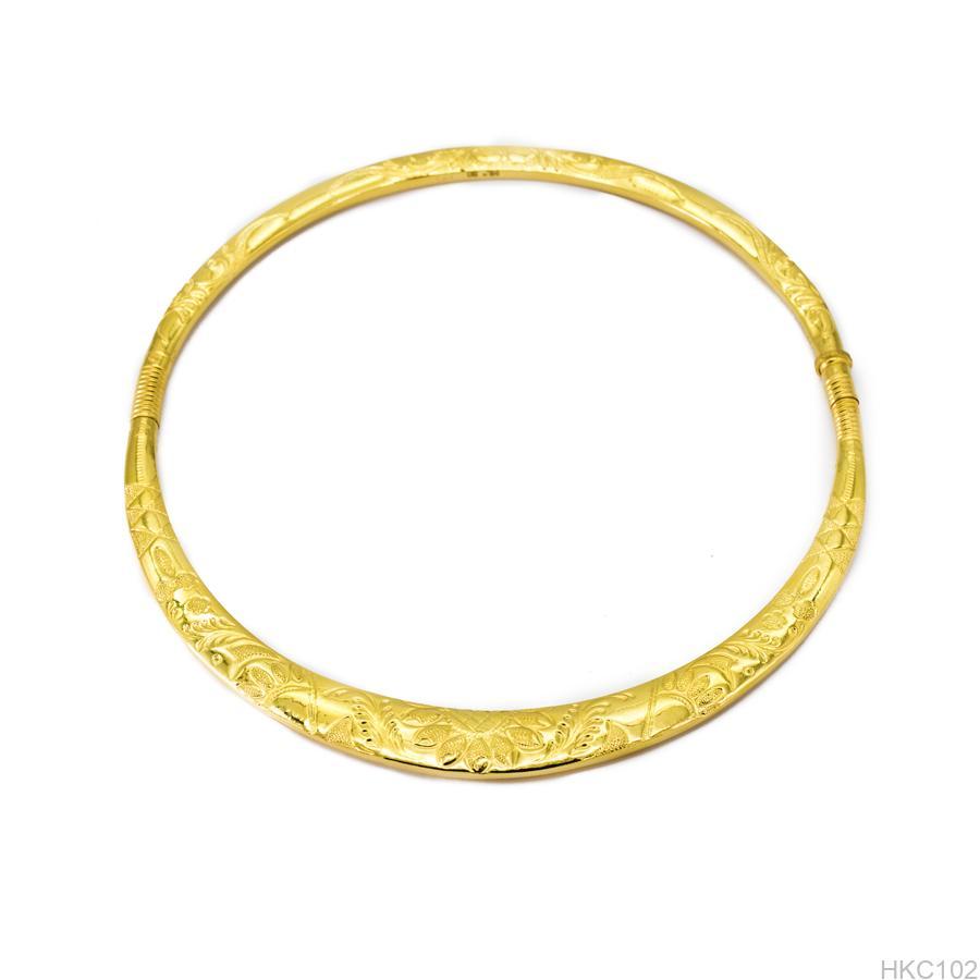 kiềng cưới vàng 24k HKC102 APJ