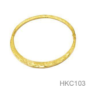Kiềng Cưới Vàng 24K - HKC103