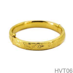 Vòng Tay Cưới Vàng 24K - HVT06