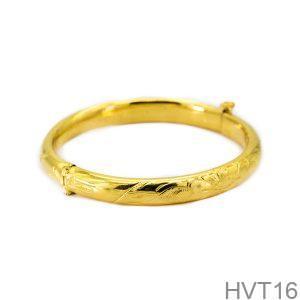 Vòng Tay Cưới Vàng 24K - HVT16