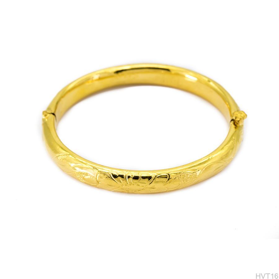 Vòng tay cưới vàng 24k APJ HVT16