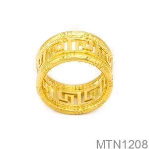 Nhẫn Nam Vàng Vàng 18k - MTN1208