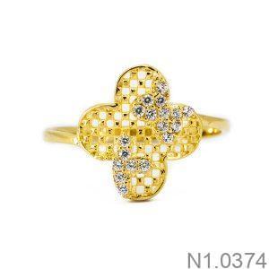 Nhẫn Nữ Vàng 18K Đính Đá CZ - N1.0374