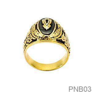 Nhẫn Nam Vàng Vàng 10k - PNB03