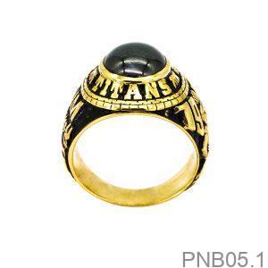 Nhẫn Nam Vàng Vàng 10k - PNB05.1