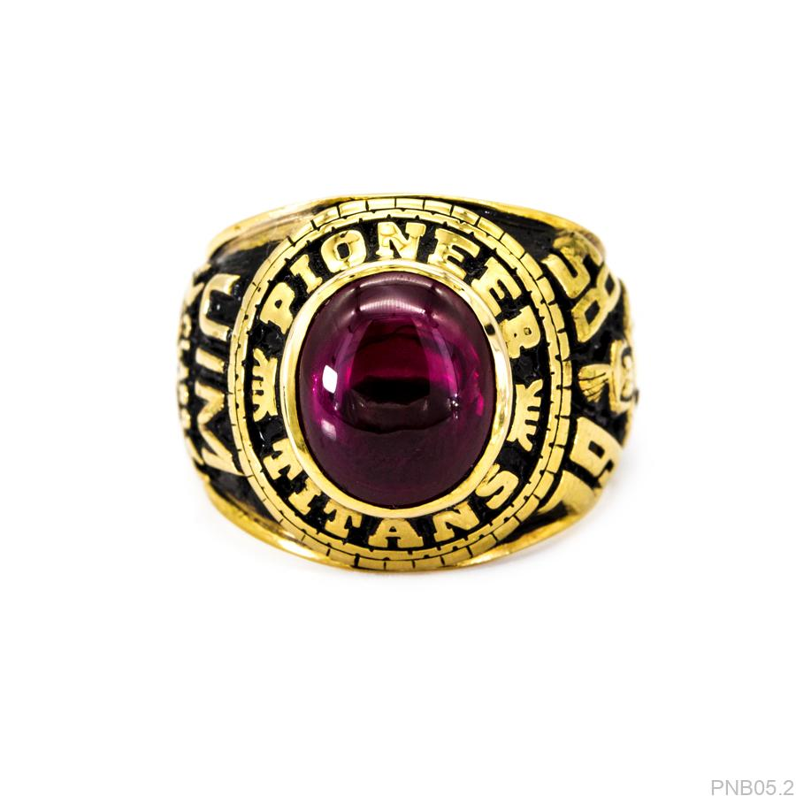 PNB05.2-1 Nhẫn nam vàng 10k kiểu mỹ