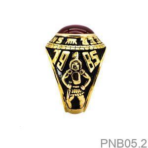 Nhẫn Mỹ Vàng Vàng 10k Đá Đỏ - PNB05.2
