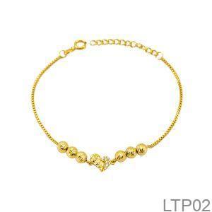 Lắc Tay Vàng 18K - LTP02