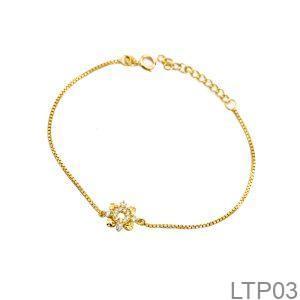 Lắc Tay Vàng 18K - LTP03
