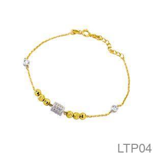 Lắc Tay Vàng 18K - LTP04