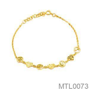 Lắc Tay Vàng 18K - MTL0073