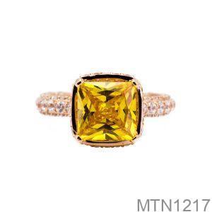 Nhẫn Nữ Vàng 10K Đính Đá CZ - MTN1217