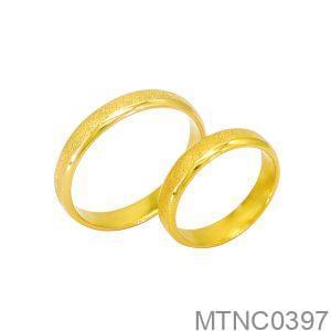 Nhẫn Cưới Vàng Vàng 10K - MTNC0397