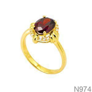 Nhẫn Nữ Vàng 18K Đính Đá CZ - N974