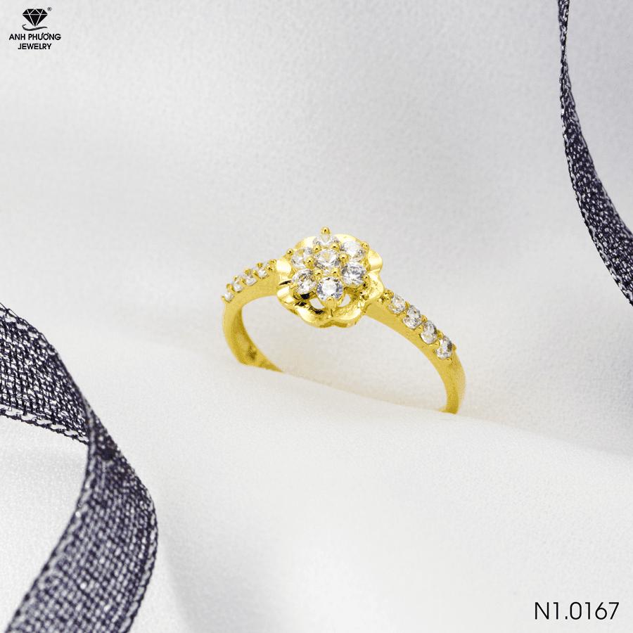 nhẫn vàng tây nữ 1