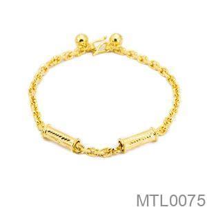 Lắc Chân Vàng 18K - MTL0075