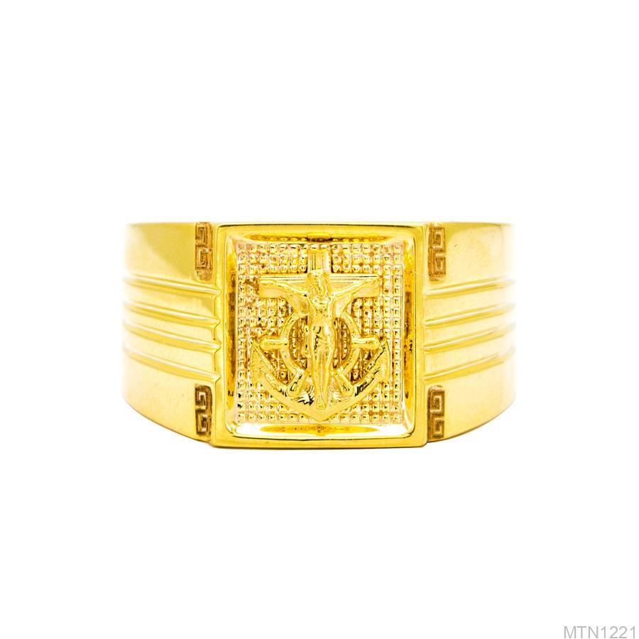 MTN1221-2 Nhẫn vàng nam 18k APJ đẹp
