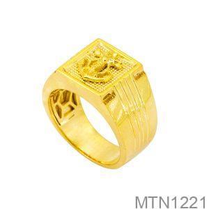 Nhẫn Nam Mỏ Neo Vàng Vàng 18K - MTN1221