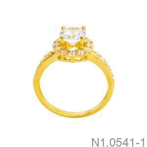 Nhẫn Nữ Vàng 18K Đính Đá CZ - N1.0541-1