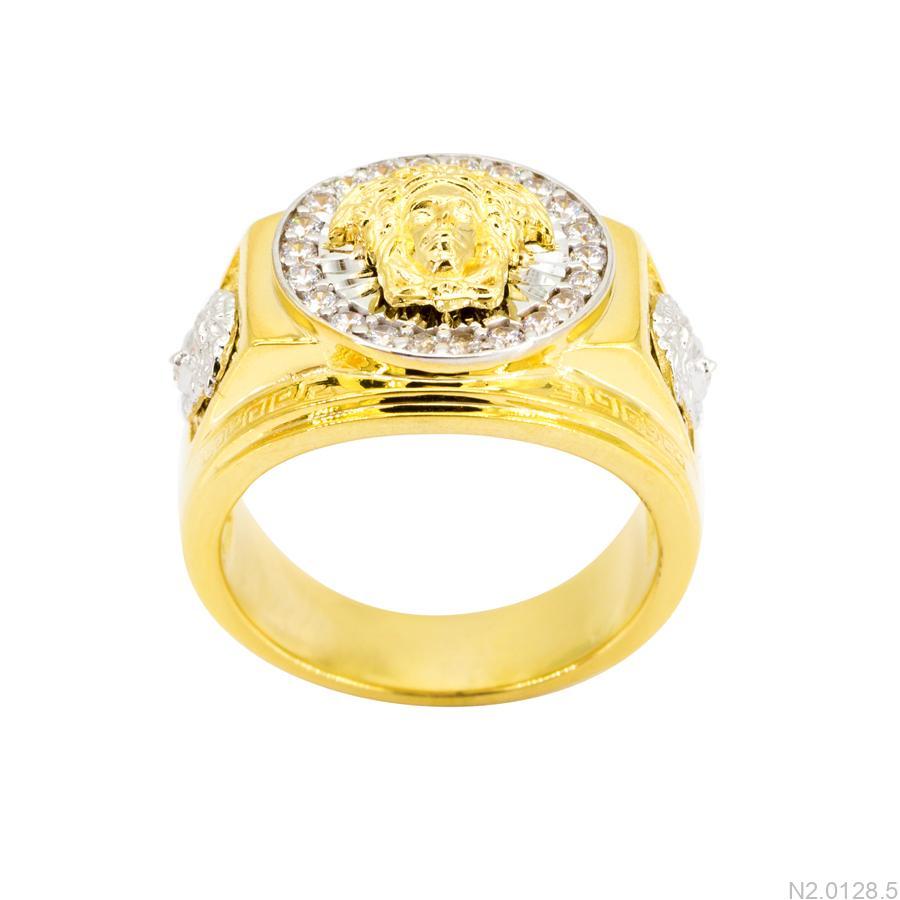 Nhẫn Nam Versace Hai Màu Vàng 18K - N2.0128.5