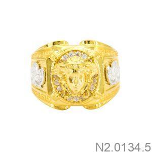 Nhẫn Nam Versace Vàng Vàng 18K - N2.0134.5