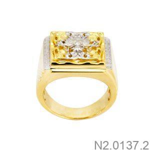 Nhẫn Nam Rồng Vàng Vàng 10K - N2.0137.2