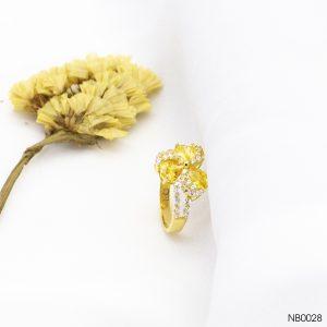 Nhẫn Nữ Vàng 18K Đính Đá CZ - NB0028