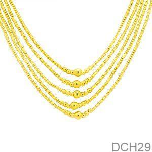 Dây Chuyền Cưới Vàng 24K - DCH29