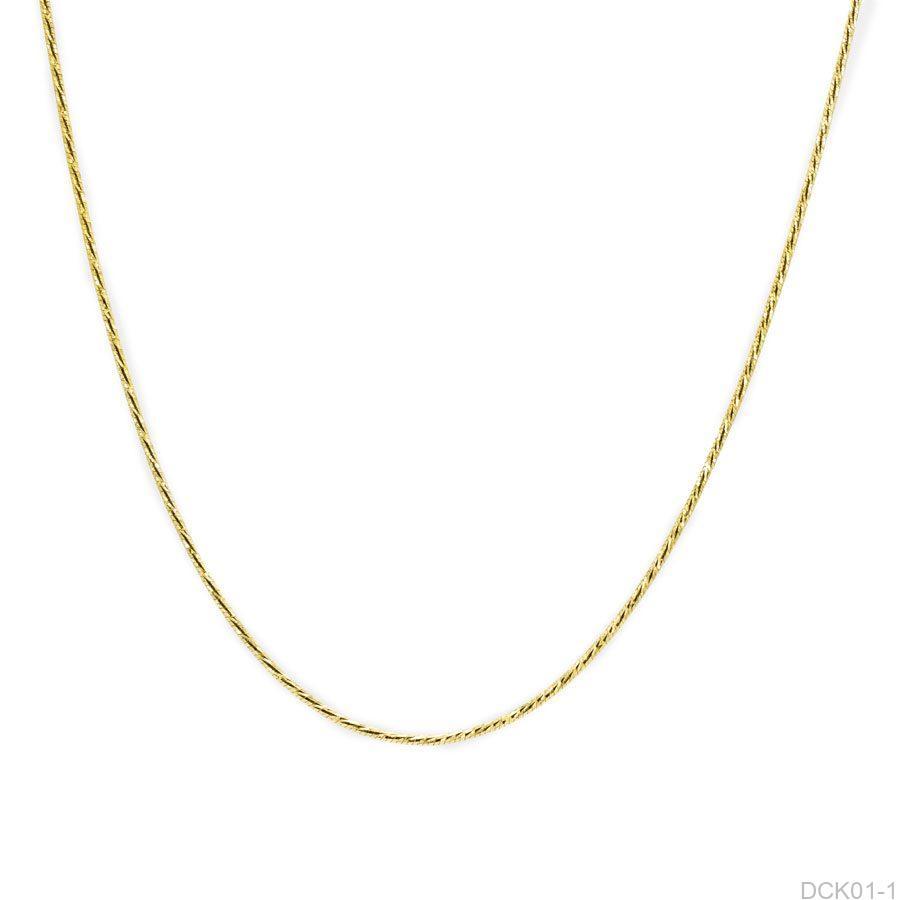 Dây Chuyền Vàng 18K - DCK01-1