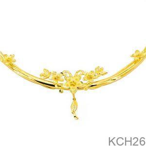 Kiềng Cổ Cưới Vàng 24K - KCH26